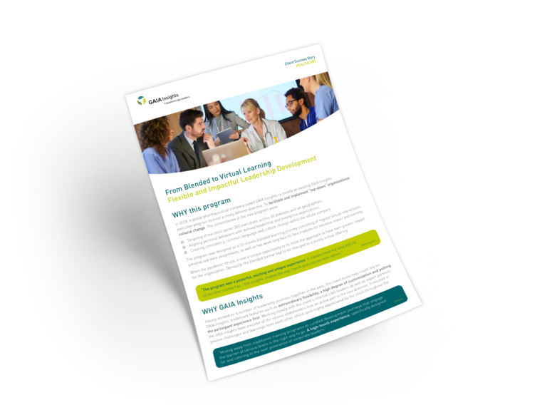 Client Success Story – Healthcare Industry